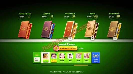 Backgammon Live Patch and Cheats money