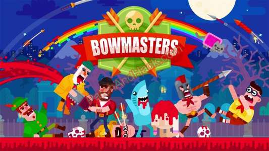 Bowmasters Patch and Cheats money,characters