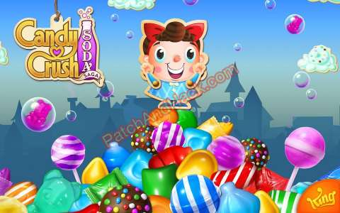 Candy Crush Saga Patch and Cheats gold,lives