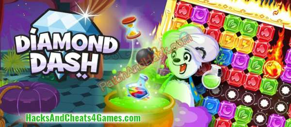 Diamond Dash Patch and Cheats gold, lives