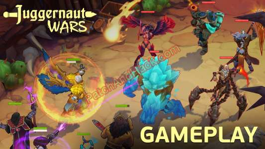 Juggernaut Wars Patch and Cheats money, resources