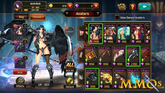 Kritika: The White Knights Patch and Cheats coins, crystals