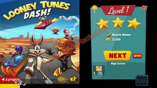 Looney Tunes Dash Patch and Cheats money