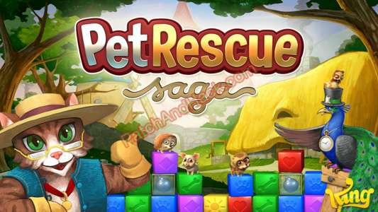 Pet Rescue Saga Patch and Cheats money, lives