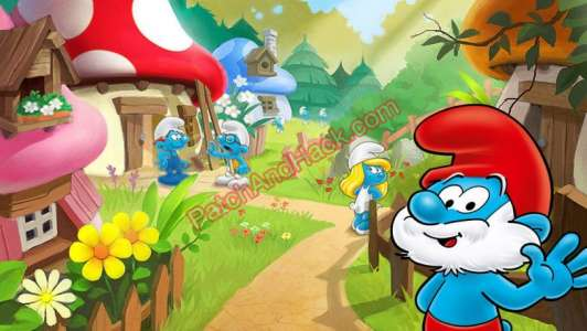 Smurfs' Village Patch and Cheats berries, money