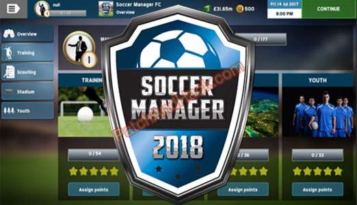 Patch for Soccer Manager 2018 Cheats
