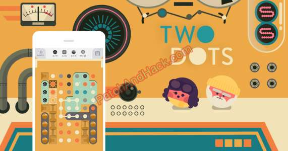 Two Dots Patch and Cheats lives, moves