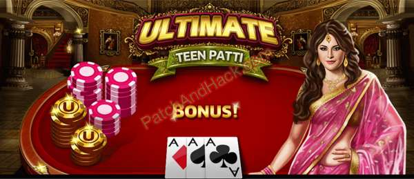 Ultimate Teen Patti Patch and Cheats money, gold