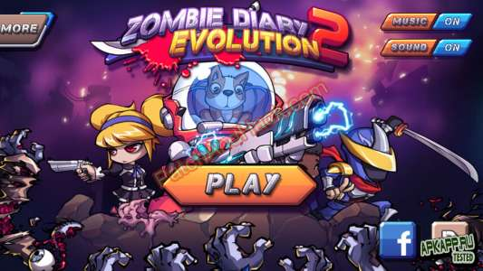 Zombie Diary 2 Patch and Cheats money, crystals