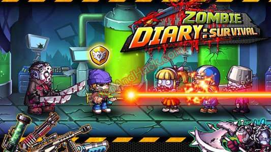 Zombie Diary Patch and Cheats money, crystals