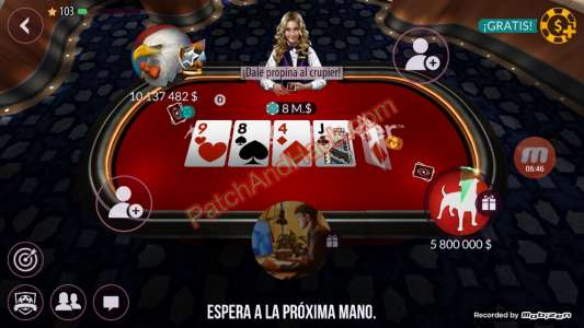 Zynga Poker Patch and Cheats money