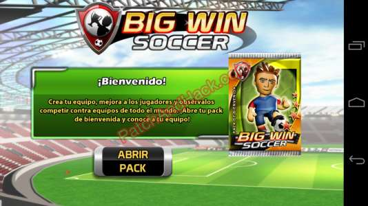 Big Win Soccer Patch and Cheats money