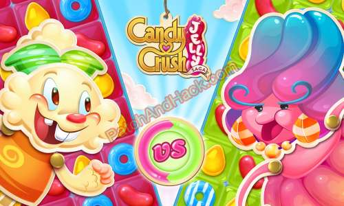 Candy Crush Jelly Saga Patch and Cheats money, life