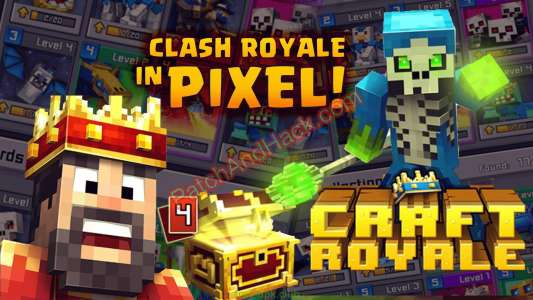 Craft Royale Patch and Cheats gems,money