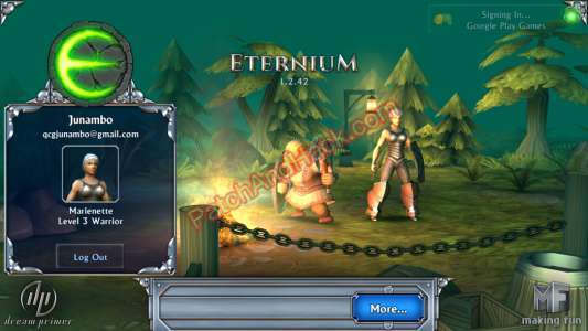 Eternium Patch and Cheats gold, rubies