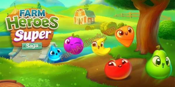 Farm Heroes Super Saga Patch and Cheats lives, acceleration