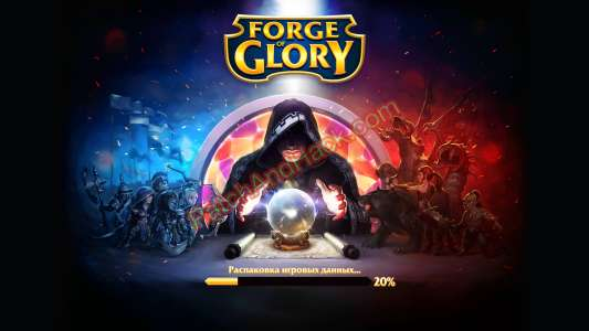 Forge Of Glory Patch and Cheats crystals, energy