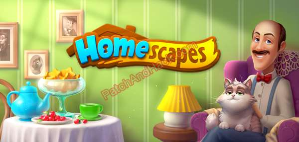 Homescapes Patch and Cheats money, lives