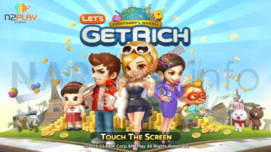 LINE Let's Get Rich Patch and Cheats money