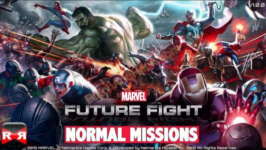 Marvel: Future Fight Patch and Cheats money, crystals