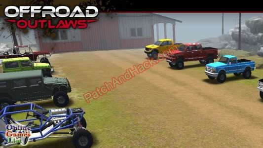 Offroad Outlaws Patch and Cheats money