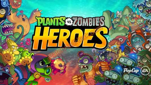 Plants vs. Zombies Heroes Patch and Cheats crystals,money
