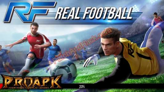 Real Football Patch and Cheats money