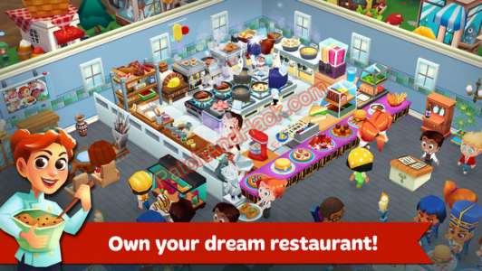Restaurant Story Patch and Cheats coins, diamonds