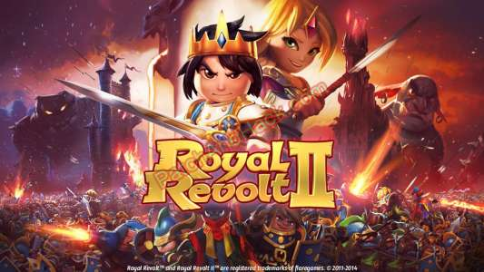 Royal Revolt 2 Patch and Cheats money, crystals