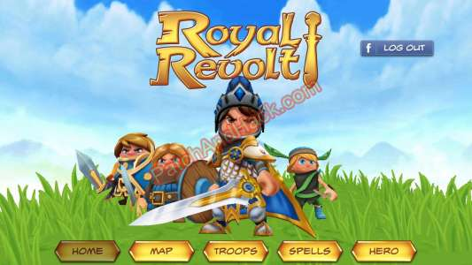 Royal Revolt Patch and Cheats money, crystals