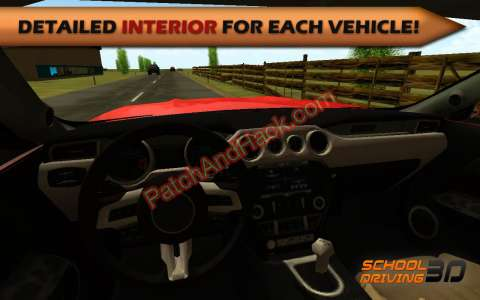 School Driving 3D Patch and Cheats money