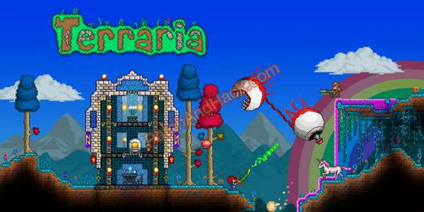 Terraria Patch and Cheats craft, items