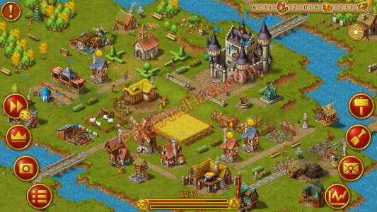 Townsmen Patch and Cheats money, prestige
