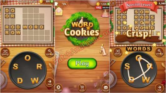 Word Cookies Patch and Cheats money, coins