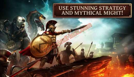 Age of Sparta Patch and Cheats crystals, coins