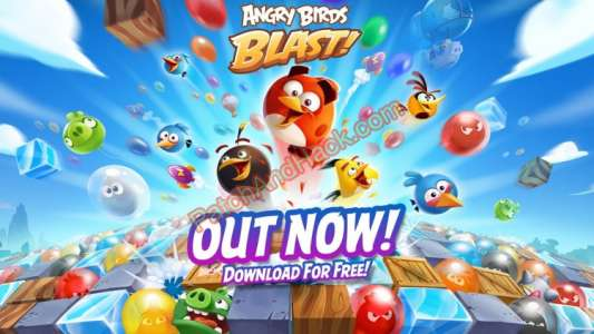 Angry Birds Blast Patch and Cheats moves, money