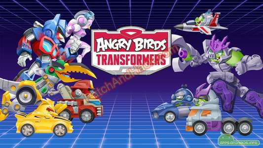 Angry Birds Transformers Patch and Cheats money, crystals