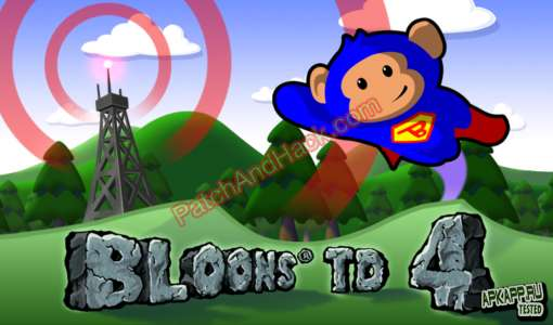 Bloons TD 4 Patch and Cheats medals, money