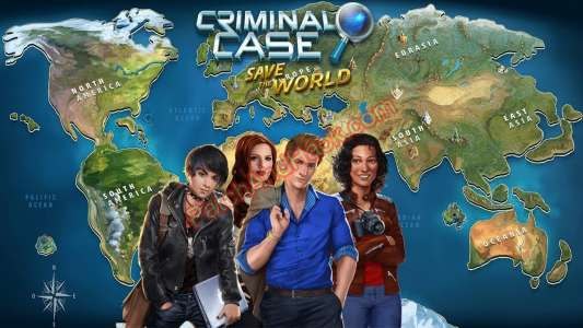 Criminal Case: Save the World Patch and Cheats gold, energy