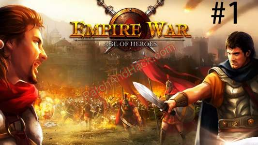 Empire War: Age of Heroes Patch and Cheats gold, silver