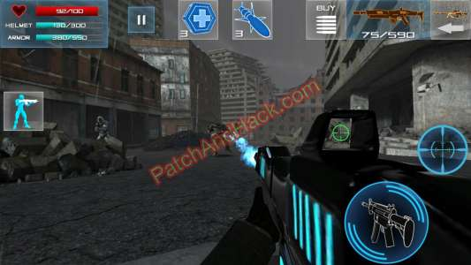 Enemy Strike Patch and Cheats money, gold