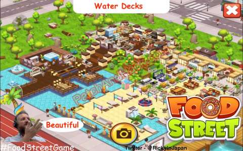 Food Street Patch and Cheats money