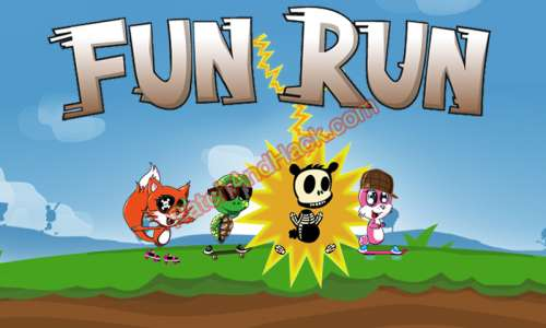 Fun Run Patch and Cheats coins, diamonds