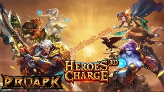 Heroes Charge Patch and Cheats damage, crystals