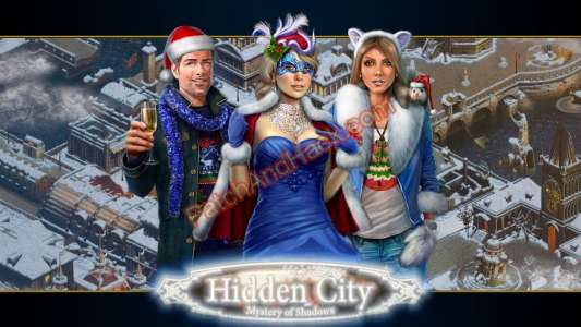 Hidden City: Mystery of Shadows Patch and Cheats items, money