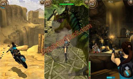 Lara Croft: Relic Run Patch and Cheats coins, gold