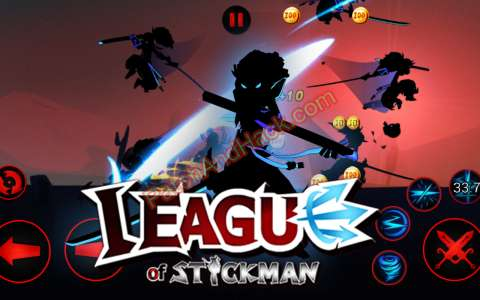 League of Stickman Patch and Cheats money, crystals
