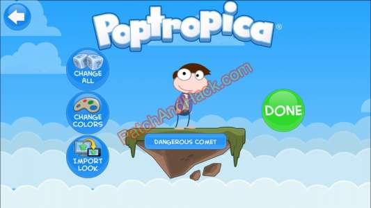 Poptropica Patch and Cheats money
