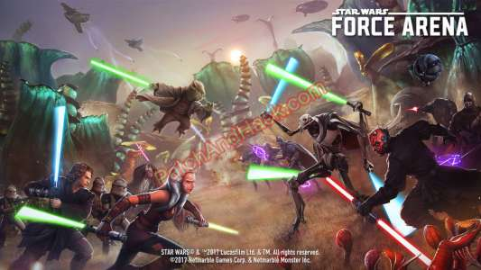 Star Wars: Force Arena Patch and Cheats money, crystals