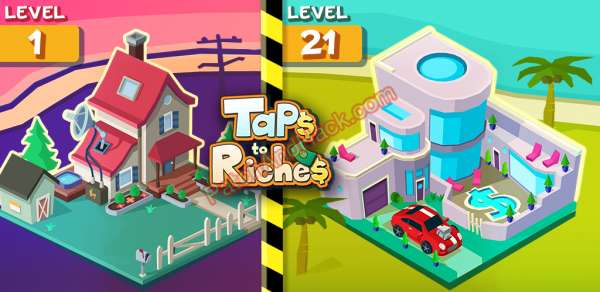 Taps to Riches Patch and Cheats money, diamonds